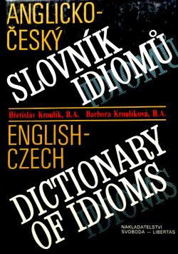 Anglicko-český slovník idiomů obálka knihy