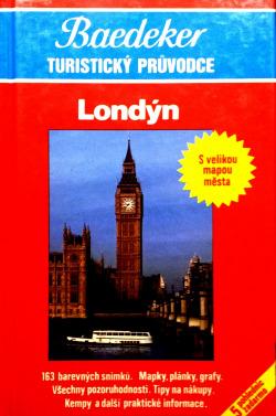 Londýn - Baedeker Turistický průvodce obálka knihy