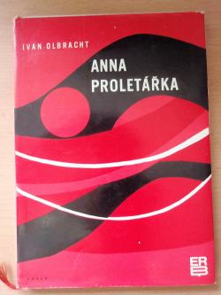 Anna proletářka obálka knihy