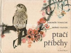 Ptačí příběhy obálka knihy