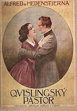 Qvislingský pastor obálka knihy