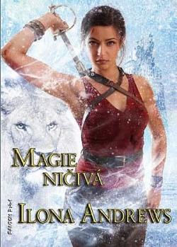 Magie ničivá obálka knihy