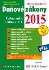 Daňové zákony 2015 - Úplná znění platná k 1. 1. 2015