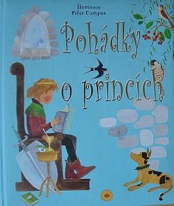 Pohádky o princích obálka knihy
