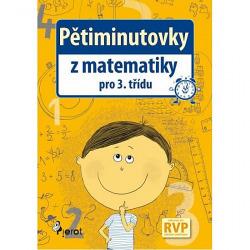 Pětiminutovky z Matematiky pro 3. třídu obálka knihy