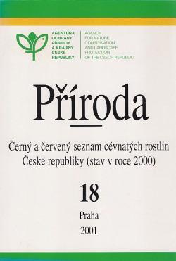 Černý a červený seznam cévnatých rostlin České republiky obálka knihy
