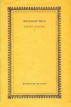 Emancipantky I. obálka knihy