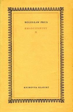 Emancipantky II. obálka knihy
