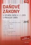 Daňové zákony 2015 v úplném znění k 1.1.2015 s přehledy změn