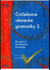Cvičebnice německé gramatiky 2 obálka knihy