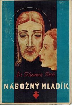 Nábožný mladík obálka knihy