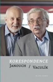 Korespondence: Janouch / Vaculík obálka knihy