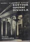 Světová operní divadla