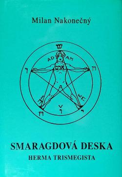 Smaragdová deska Herma Trismegista obálka knihy