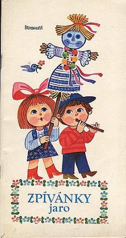 Zpívánky - Jaro obálka knihy