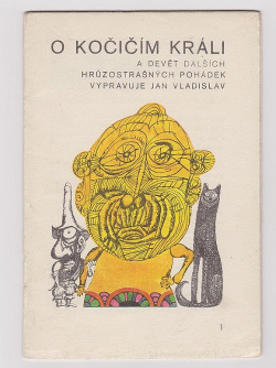 O kočičím králi a devět dalších hrůzostrašných pohádek obálka knihy
