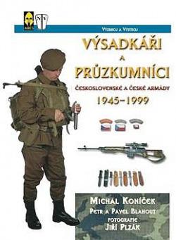Výsadkáři a průzkumníci československé a české armády 1945-1999 obálka knihy
