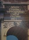 Dějiny českého výtvarného umění 1780/1890 (III/1)