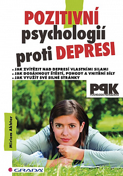 Pozitivní psychologií proti depresi obálka knihy