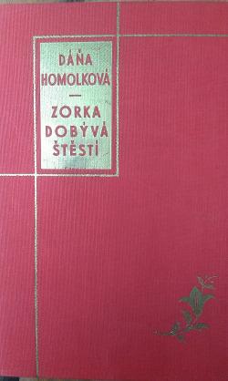 Zorka dobývá štěstí obálka knihy