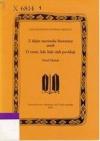 Literární studie. I., Skupina lidových povídek o neznámém rekovi, jenž v závodech získal princeznu za choť