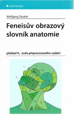 Feneisův obrazový slovník anatomie obálka knihy