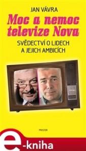 Moc a nemoc televize Nova obálka knihy
