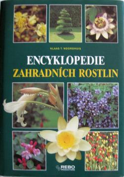Encyklopedie zahradních rostlin obálka knihy