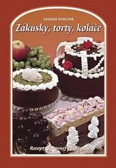 Zákusky, dorty, koláče obálka knihy