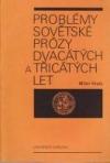 Problémy sovětské prózy dvacátých a třicátých let