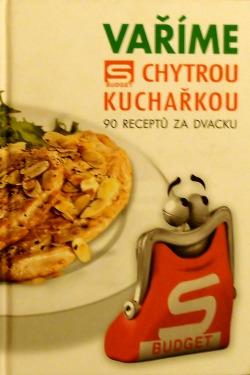Vaříme s chytrou kuchařkou obálka knihy