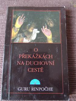 O překážkách na duchovní cestě obálka knihy