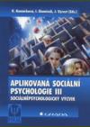 Aplikovaná sociální psychologie III
