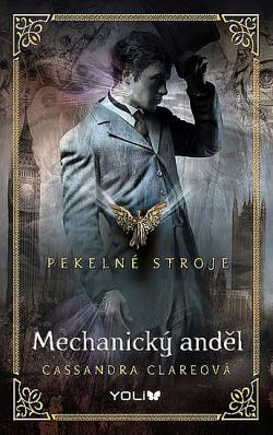 Mechanický anděl obálka knihy