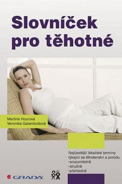Slovníček pro těhotné obálka knihy