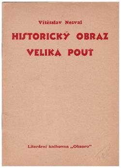 Historický obraz / Veliká pouť obálka knihy