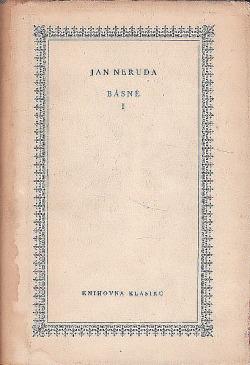 Básně I obálka knihy