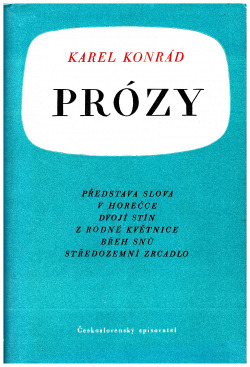 Prózy obálka knihy