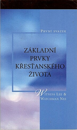 Základní prvky křesťanského života, 1. svazek obálka knihy