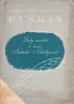 Listy nevěstě a ženě Natalii Nikolajevně obálka knihy