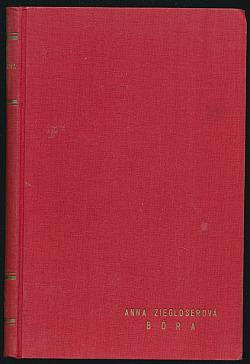 Bóra obálka knihy