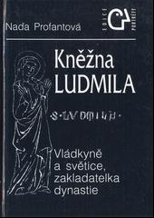 Kněžna Ludmila obálka knihy