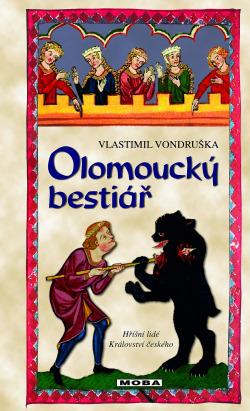 Olomoucký bestiář obálka knihy