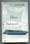 Čtení o Mahenovi a Těsnohlídkovi