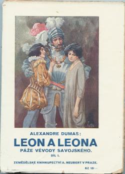 Leon a Leona I. (Páže vévody Savojského) obálka knihy