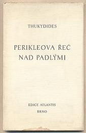Periklova řeč nad padlými obálka knihy