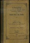 Liturgika o posvátných dobách svaté katolické Cirkve, čili, Slavnostní kruh v roce cirkevním