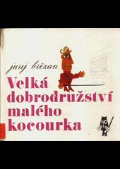 Velká dobrodružství malého kocourka obálka knihy