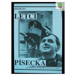 Letci Písecka na bojištích druhé světové války obálka knihy