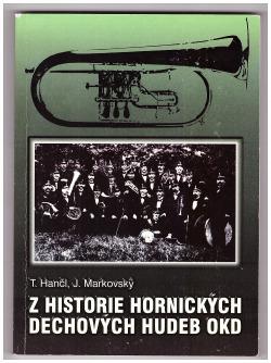 Z historie hornických dechových hudeb obálka knihy